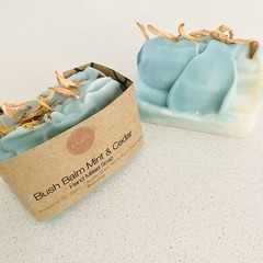 Bush Balm Mint & Cedar | Hand Milled Soap