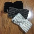 Cadillac knot 100% wool handknitted headband / ear warmer