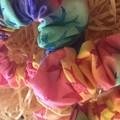 Colourful Bird Scrunchie
