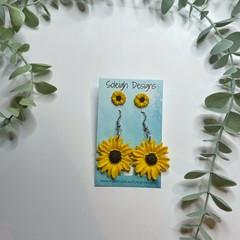Sunflower Duo Earrings