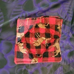 Bowl cosy- Stag plaid