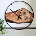 Custom Made Australian Handmade Wood & Steel Wall Clocks