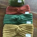Australian Pure Alpaca Fleece Crochet Twisted HeadBand