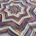 Crochet Star Rug