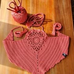 Crochet Mandala wrap top