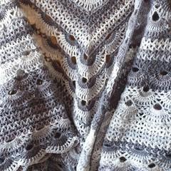 Crochet Shawl/wrap/scarf