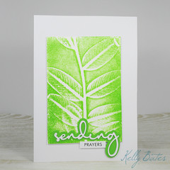 Sending Prayers, Sympathy Card