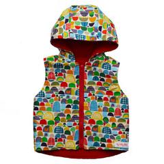 Size 00 Colourful Hills Vest