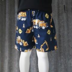"""Construction""- Kids Shorts"