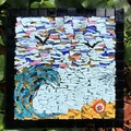 Wall art. Smalti mosaic.