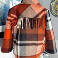 Cowboy fringed coat size 4