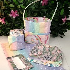 Baby doll diaper bag sets