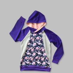 Boobicino Hoodie - Floral