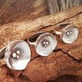 Poppy Ring - Sterling silver small