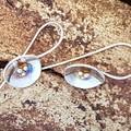 Poppy Earrings - Sterling silver