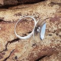 Poppy Ring - Sterling silver medium