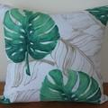 Tropical Green Palm Cushion Cover