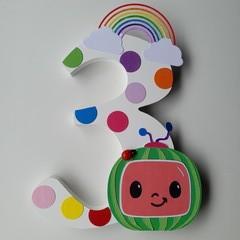 Birthday Celebration Numbers