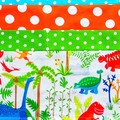 Utility teacher vendor daycare apron - 6 pockets - Dinosaurs