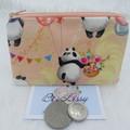Coin & Card Purse  - Panda Design