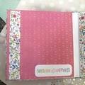 """""""Love"""" - Mini Scrapbook Album"""