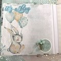 """Baby Boy"" - Mini Scrapbook"