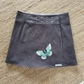 Butterfly Clip Wrap Reversible Skirt