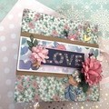 """Love"" - Mini Scrapbook Album"