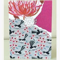 Native birdies card