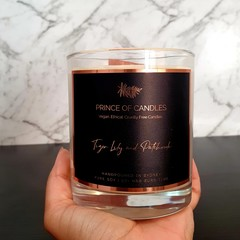 Tiger Lily & Patchouli Woodwick Scented Candle