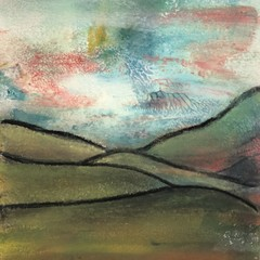 Mini Abstract Landscape Highlands