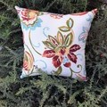 FLORAL OUTDOOR  CUSHION COVER/45CM X 45CM