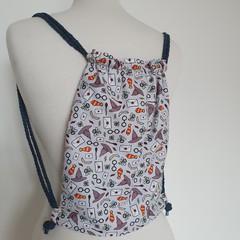 Drawstring backpack - small
