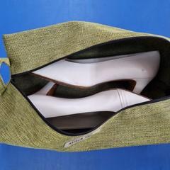 Shoe  Bag - Olive