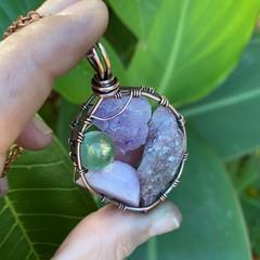 Sacred Serenity 5 Stone Pendant