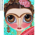 "5D Diamond Painting Kit ""Frida Kahlo"" - Complete Art Kit Full Round Drill"
