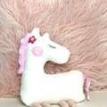 Handmade Pony, READY TO POST, stuffed animal, baby girl toy