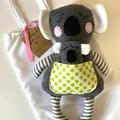 Handmade Koala, READY TO POST, Australian animal, baby girl toy, baby boy toy