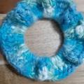 Deluxe Ocean Crochet Hair Scrunchie
