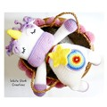 Handmade Unicorn cusion, READY TO POST, crochet unicorn pillow, baby girl toy,