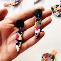 Paint Splatter  - Medium Dangles