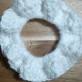 Deluxe Marshmallow Crochet Hair Scrunchie