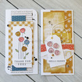 Thank You & Hello Friend Mini Slimline Card Set