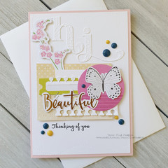 Hi Handmade Card