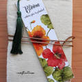 Watercolour Floral Tassel Art Bookmark 4 x Designs!