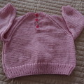 SIZE 3(+ ) yrs - Hand knitted: Acrylic, Washable, Unisex