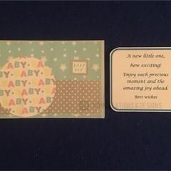 Baby Boy Star Greeting Card