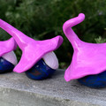 Gnome trio - Pongo, Quincey & Razz