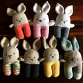 Bunny Rabbit Cuddle Toy - The Fluffle Collection