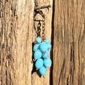 Glass beaded Key Chain or Hanger